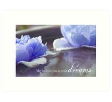 May He Visit You In Your Dreams Art Print