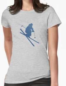 SKI  Womens Fitted T-Shirt