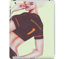 Score! Broncos iPad Case/Skin