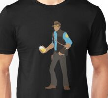 TF2 - Piss. (BLU) Unisex T-Shirt
