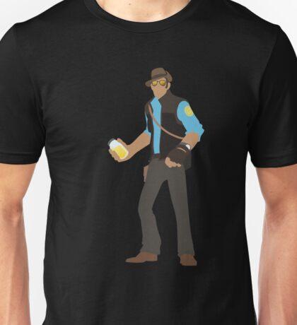 TF2 - Piss. (BLU) Unisex T-Shirt