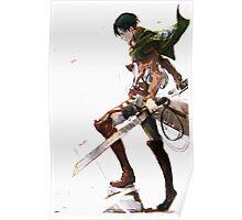 Attack On Titan - Levi Ackerman Poster
