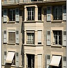 Awnings, Geneva, Switzerland. by Madeleine Marx-Bentley