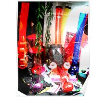 Bongs and Gas Masks Poster