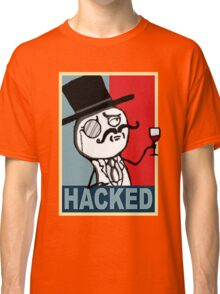 Hacked by LulzSec Classic T-Shirt