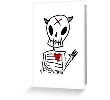 Mr. Sp00ky Spasm0lytik Greeting Card
