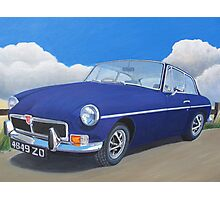 Blast from the Past....1973 MGB GT Photographic Print