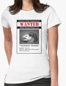 Fairway Frank  Womens Fitted T-Shirt
