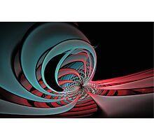 Magneto distorsion Photographic Print
