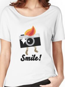 Smile! Women's Relaxed Fit T-Shirt