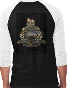 ROYAL MARINES Men's Baseball ¾ T-Shirt