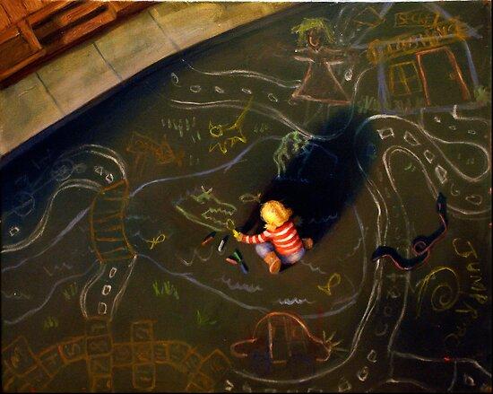 Chalk Land by Danielle Y. Bernard