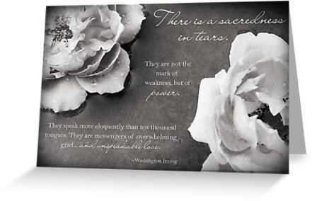 Sacredness In Tears by Franchesca Cox
