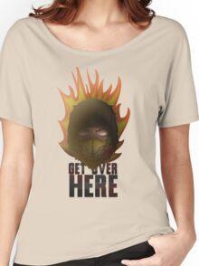 MORTAL KOMBAT X - SCORPION Women's Relaxed Fit T-Shirt