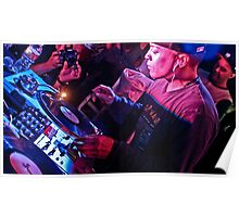 Turntablist Qbert in Houston TX Poster