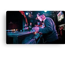 Turntablist Qbert in Houston TX Canvas Print