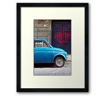 Fiat #1 Framed Print