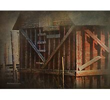 Cross Braces Photographic Print