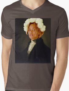 George Washington and Beyoncé Mens V-Neck T-Shirt