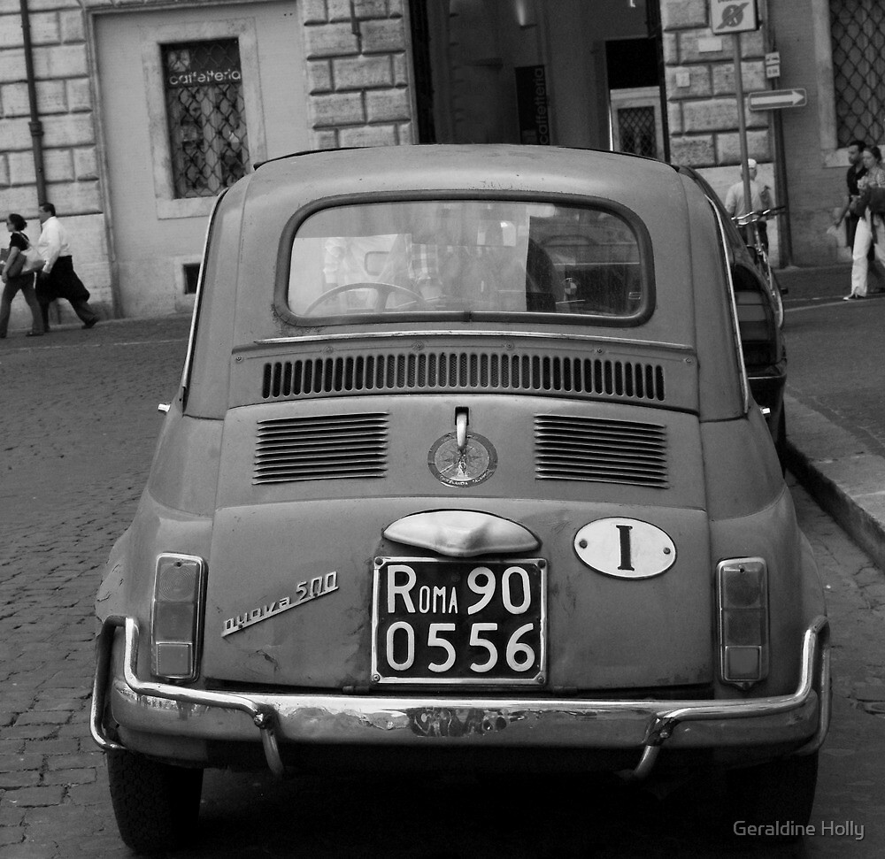 Fiat in Rome by Hollyis