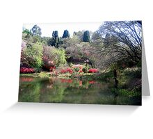 A garden for all seasons Greeting Card