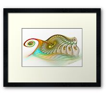 Pong Pet Framed Print