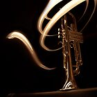 Light Painting Trumpet by sixdesign