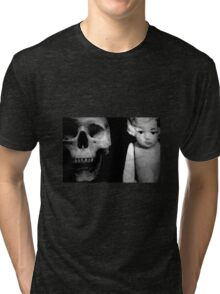 Skull And Dolly Tri-blend T-Shirt
