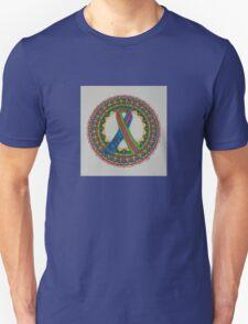 Mandala for Metastatic Breast Cancer Unisex T-Shirt