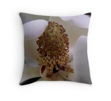 Magnolia Stamen Throw Pillow