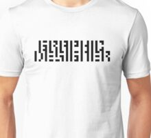 GRAPHIC DESIGNERS' VISION TEST CRYPTIC Unisex T-Shirt