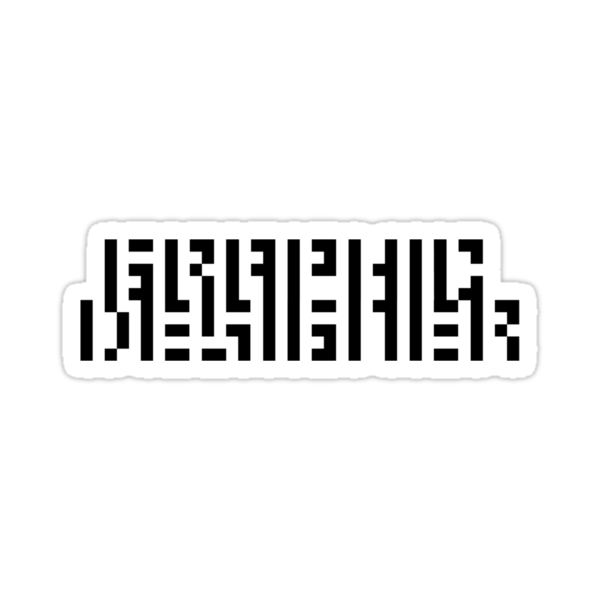 GRAPHIC DESIGNERS' VISION TEST CRYPTIC by SpLotchy