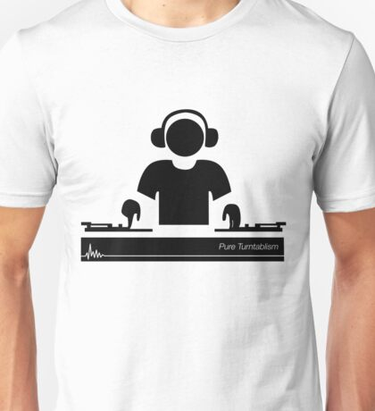 Turntablism Unisex T-Shirt