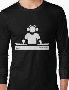 Turntablism Hoodie Long Sleeve T-Shirt