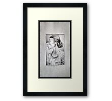 Friend of Chief  Framed Print