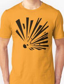 Explosive Unbordered Unisex T-Shirt