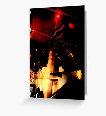 Mirrored Ceiling Greeting Card