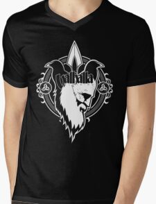 Valhalla Clothing: Odin King Mens V-Neck T-Shirt