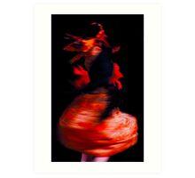 Barcelona dancers Art Print