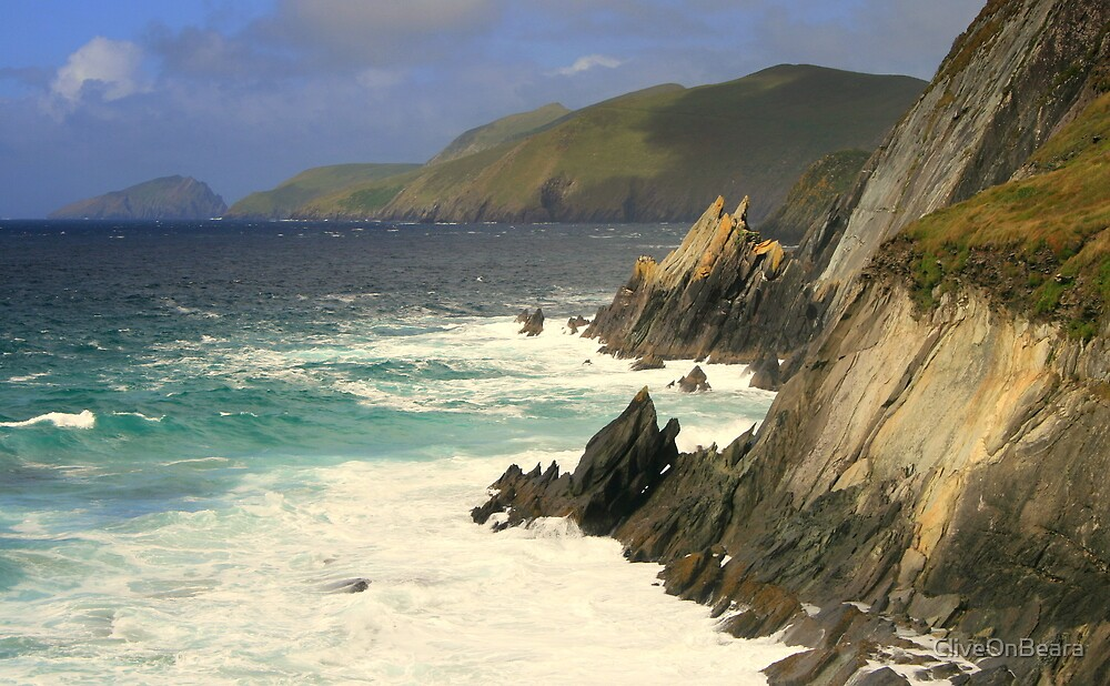 Where the mountains meet the sea by CliveOnBeara