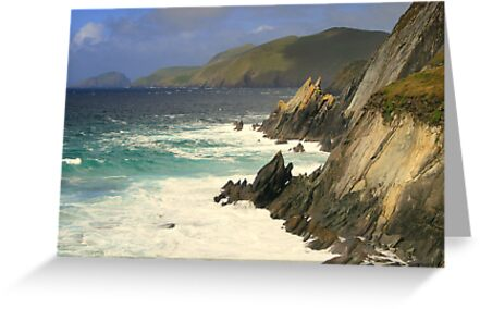 Where the mountains meet the sea by CliveOnBeara