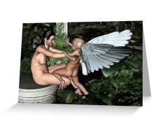 The Cupids Struggle Greeting Card