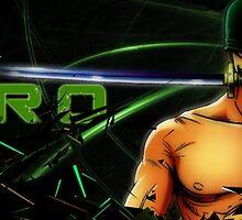 Roronoa Zoro by Josex