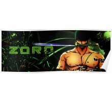 Roronoa Zoro Poster