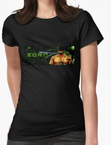 Roronoa Zoro Womens Fitted T-Shirt