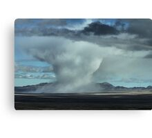 Extreme Weather Canvas Print