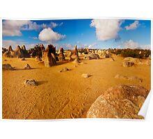 Nambung National Park Pinnacles 1 Poster