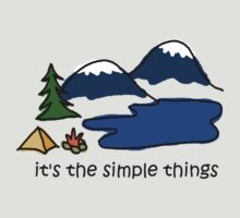 Camping - Simple Things by Jon Winston
