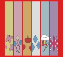 Friendship is Magic - Cutie Mark Collection Kids Clothes
