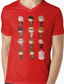 The 11 Doctors Mens V-Neck T-Shirt